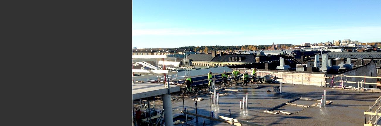 Utsikt över Karlstad från kvarteret Mercurius.